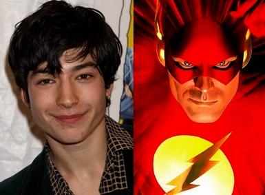 Ezra Miller è il Flash cinematografico
