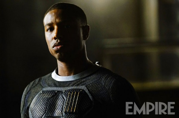 Michael B. Jordan interpreta Johnny Storm in Fantastic Four - I fantastici quattro