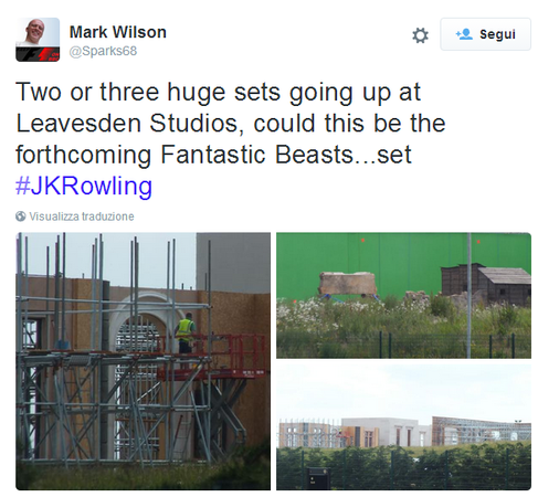 il tweet di Mark Wilson