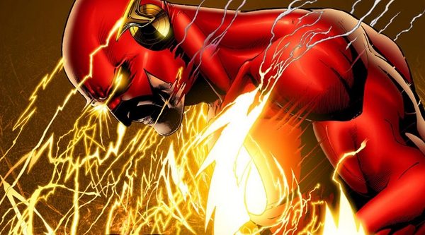 Flash in un'illustrazione di Ethan von Sciver