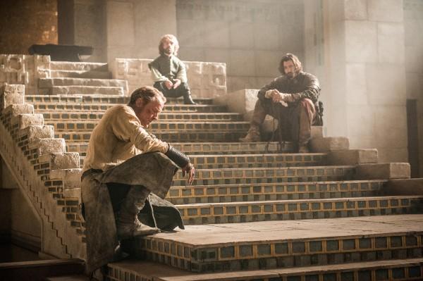 Una scena dal decimo episodio della quinta stagione di Game of Thrones