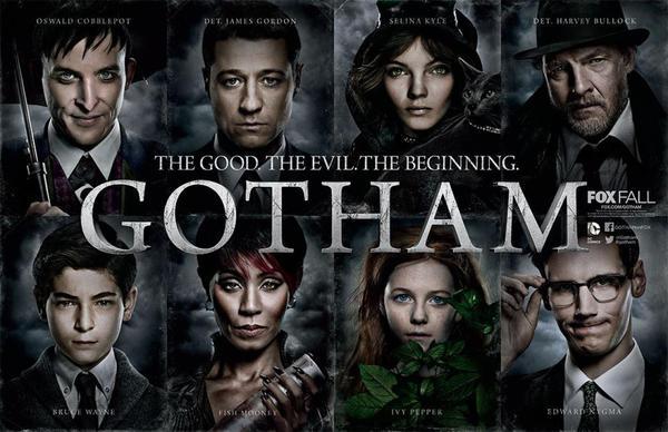 Banner promozionale di Gotham realizzato per il San Diego Comic Con International 2014