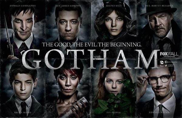 Il cast di Gotham