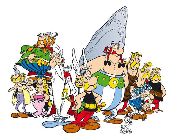 I personaggi di Asterix