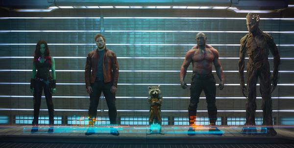 Il cast di Guardiani della Galassia