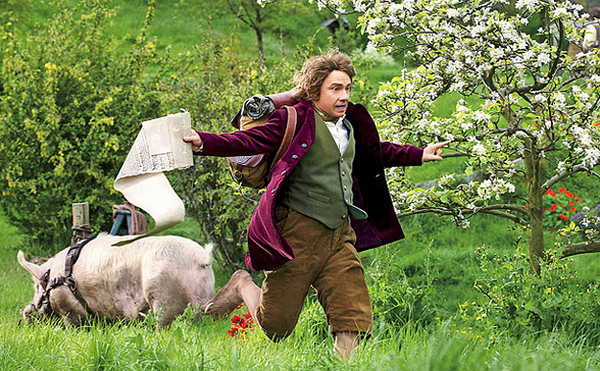 Martin Freeman è Lo Hobbit
