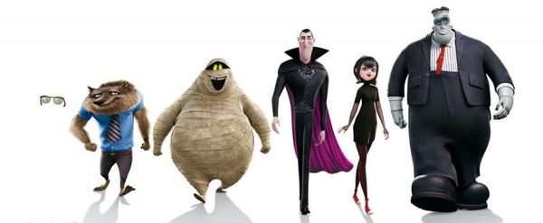 il cast di Hotel Transylvania 2!