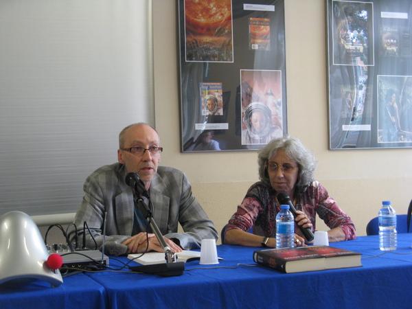 Steven Erikson e Annarita Guarnieri ai Delos Days 2011