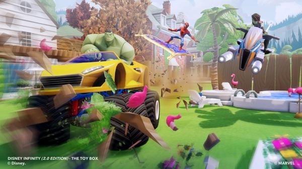Screenshot da Disney Infinity 2.0