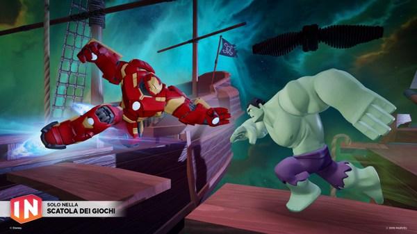 Iron Man Hulkbuster vs Hulk