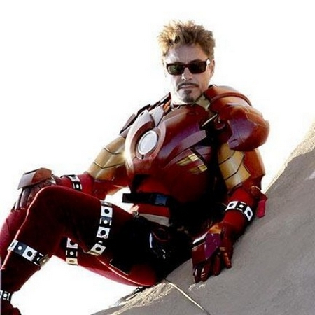 Robert Downey J.R. nel ruolo di Tony Stark/Iron Man