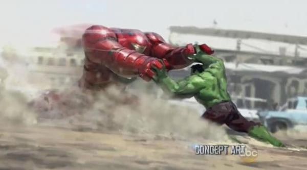 Hulkbuster vs Iron Man
