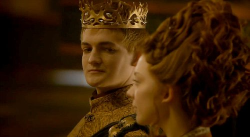 Jack Gleeson e Natalie Dormer, interpreti di Joffrey Baratheon e Margaery Tyrell