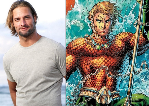 Josh Holloway e Aquaman