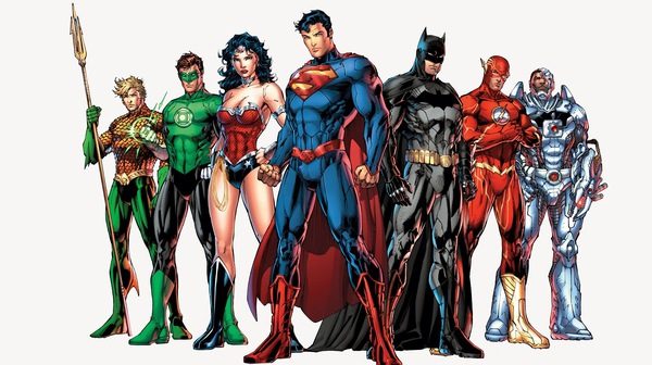 La Justice League illustrata da Jim Lee