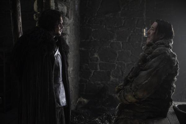Kit Harington e Ciaran Hinds  - Foto di Helen Sloan HBO