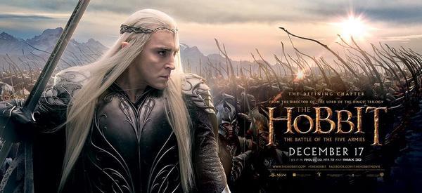 Lee Pace in Lo Hobbit: la battaglia delle cinque armate