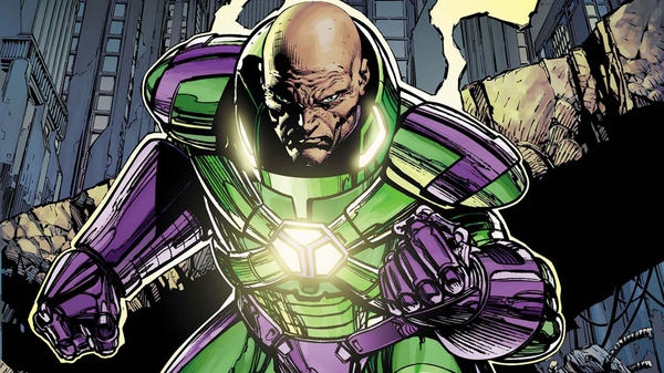 Lex Luthor in un'illustrazione di David Finch
