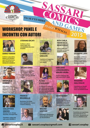 I panel di Sassari Comics & Games