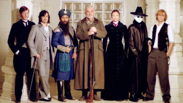 il cast del film del 2003: Sean Connery, Naseeruddin Shah, Peta Wilson, Tony Curran, Stuart Townsend, Jason Flemyng e Shane West