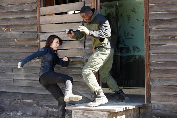 L'agente Melinda May in azione in The Magical Place, episodio 11 di Agents of S.H.I.E.L.D.