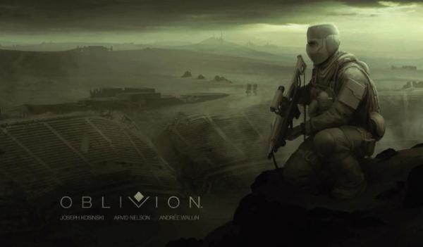 Concept art per il fumetto mai nato di Oblivion