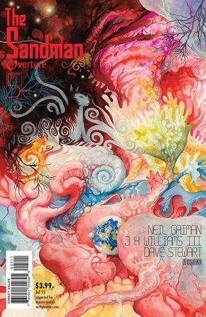 La cover americana di Sandman: Overture #5