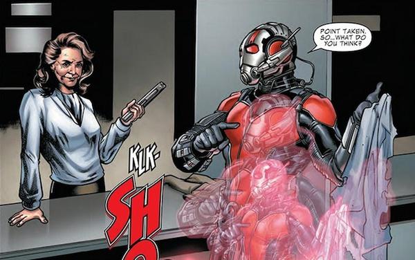 Peggy Carter nel prequel a fumetti di Ant-Man