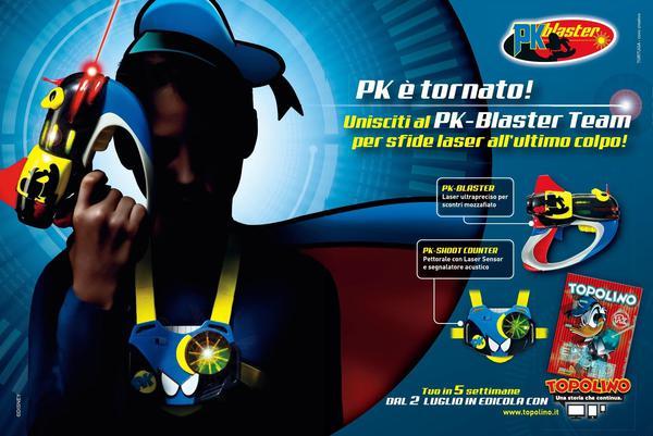 PK Blaster Blu Edition