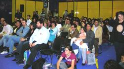 Il pubblico presente alla manifestazione