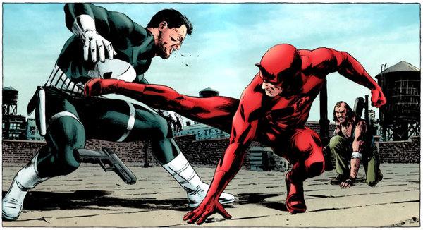 Daredevil contro il Punitore