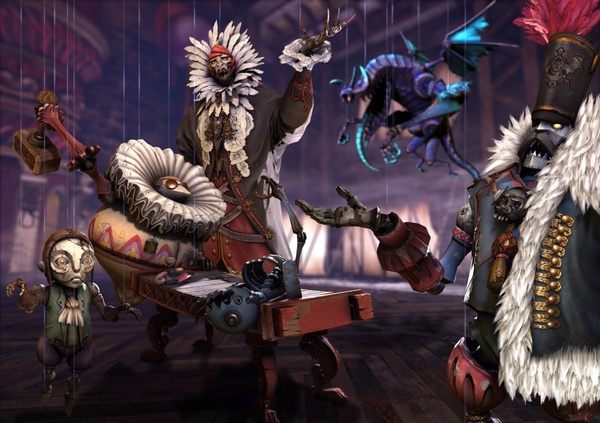 Puppets in Castlevania: Lords of Shadow 2