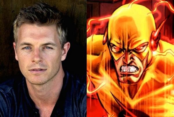 Rick Cosnett sarà Eobard Thawne (nei fumetti, Professor Zoom/Reverse Flash)
