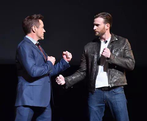 Robert  Downey Jr. e Chris Evans cominciano la Civil War?