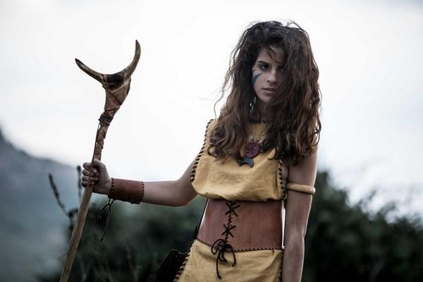 Veronica Obinu nel ruolo di Iskìda