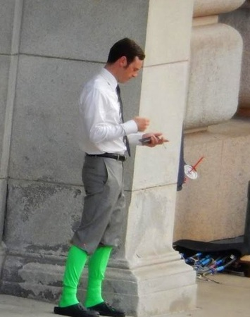 Scoot McNairy sul set di Batman V Superman