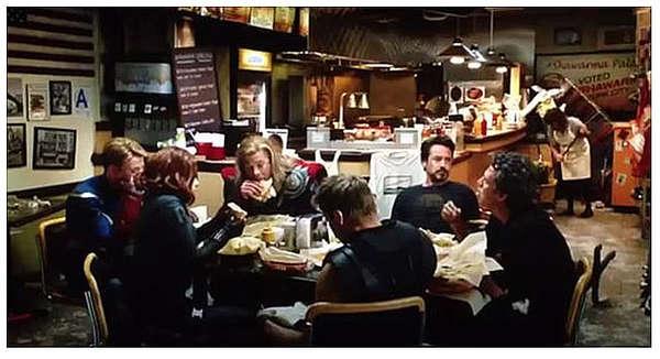 La scena post crediti di The Avengers