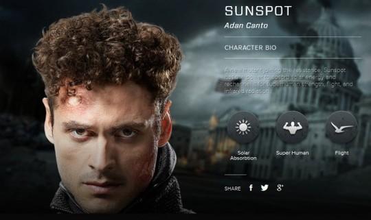 Adan Canto è Roberto da Costa / Sunspot