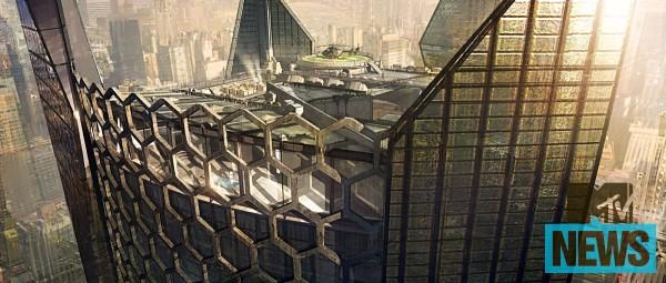 La sede della Oscorp in The Amazing Spider-Man 2: il potere di Electro