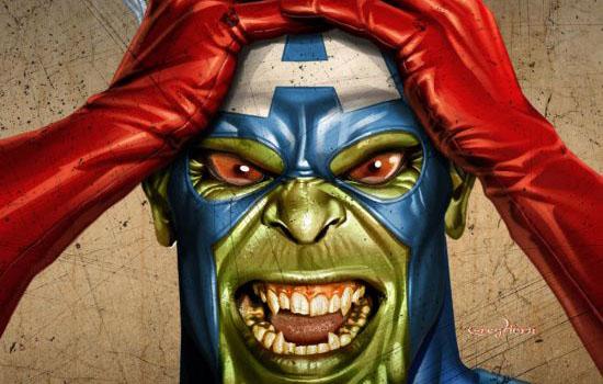 Malcelato disappunto di uno Skrull che sperava di essere in The Avengers
