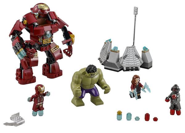 The Hulk Buster Smash (76031)