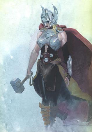 Thor la dea del tuono