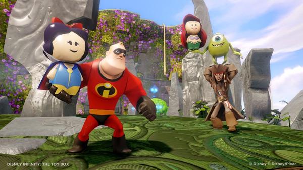 La scatola dei giochi di Disney Infinity