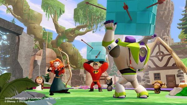 Merida e Malefica e gli altri personaggi di Disney Infinity 2.0