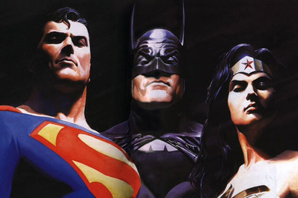La Trinità illustrata da Alex Ross