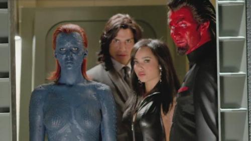 Mystica (Jennifer Lawrence) e Azazel (Jason Flemyng) in X-Men: L'Inizio