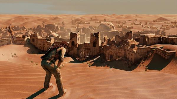 Uno screenshot di Uncharted