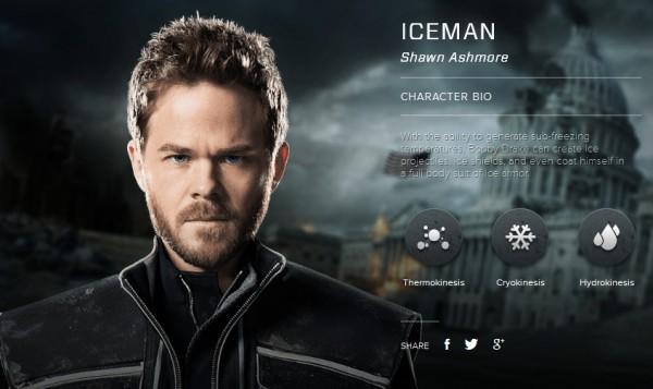 Shawn Ashmore è Iceman