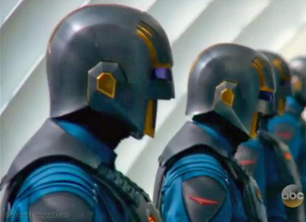 I Nova Corps in Guardians of The Galaxy