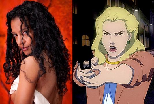 Zabryna Guevara sarà il capitano Sarah Essen (qui nell'adattamento animato di Batman: Year One del 2011)